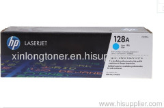 Original Cyan Toner Cartridge for HP 128A