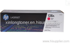 Original Magenta Toner Cartridge for HP 128A