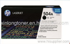 Original Black Toner Cartridge for HP 504A