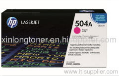 Original Magenta Toner Cartridge for HP 504A