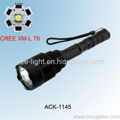 500lumen CREE XML-T6 High Power Aluminum Flashlight ACK-1145