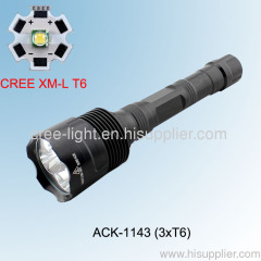 30w C8 3x Cree XML T6 High Power Flashlight ACK-1143