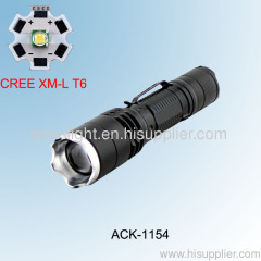 10W 500LM Portable Zoomable CREE XML T6 Torch ACK-1154