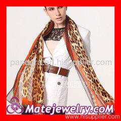 leopard Hermes silk scarf wholesale