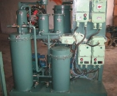 Industry Lubricating Oil Restoration, Oil Reclamation, Oil Refinery Plant