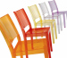 Clear PC La Maire side Chair