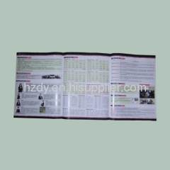 4 color printed brochure for sales promotion or company intr