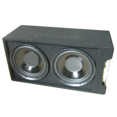 "12"" Car Speaker Box with Amplifier"