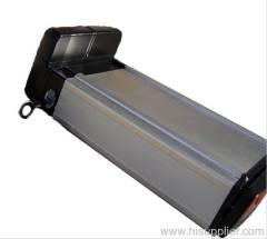 48V 10Ah Li-ion Rear Rack E-Bike Battery Pack