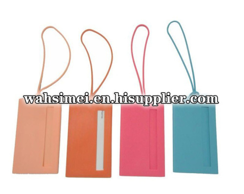 Silicone Name Card Holder for Baggage Bag