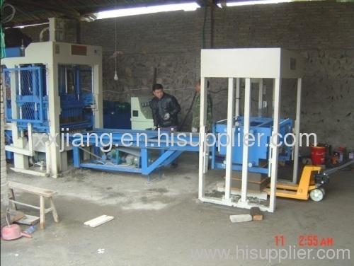 Sand &stone brick making machine