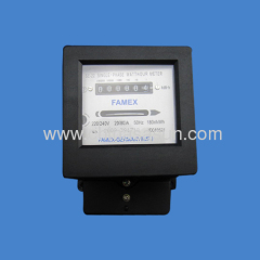 single phase Watt-Hour Meter china