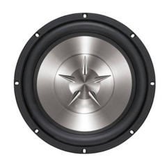"25 CM (10"") SINGLE 4-OHM VOICE COIL SUBWOOFER"
