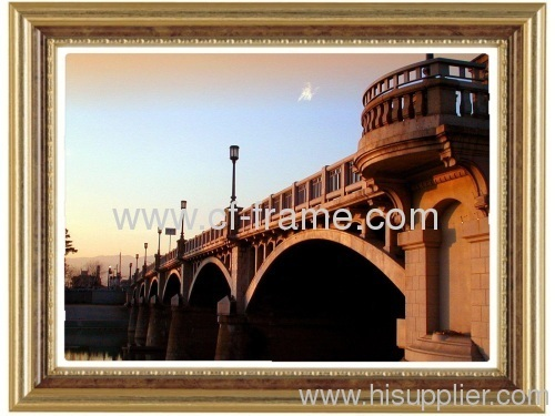 golden 5x7 PS picture frame