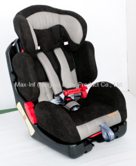 9-36KGS CAR SEAT V8B BLACK RED