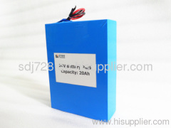 24V 20Ah LiFePO4 Battery Pack for Solar System