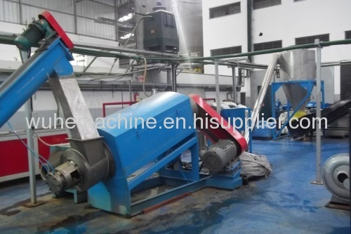 PET scrap recycling plant