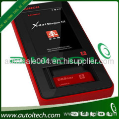 wholesale price launch X431 Launch X-431 diagun 3 upgraded by internet