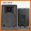 new design plastic active speaker with 150W BI-Amp , bluetooth /usb/sd/fm player
