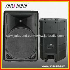 new design plastic active speaker with 150W BI-Amp , bluetooth /usb/sd/fm player