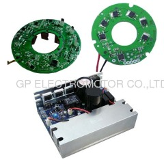 Brushless DC motor driver with control input 0-10V/PWM
