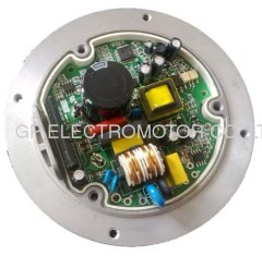 115V external rotor EC motor driver with PFC and Alarm reply