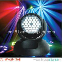 tricolor RGB Moving Head 36*1w/3wMoving Head Wash Light