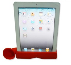 Silicon IPad loudspeaker music