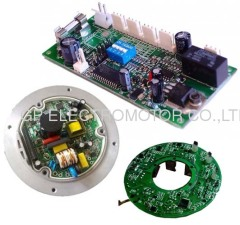 Electronically commutated EC Fan motor controller driver