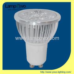 6W 400lm LED HIGH POWER SPOTLIGHT GU10