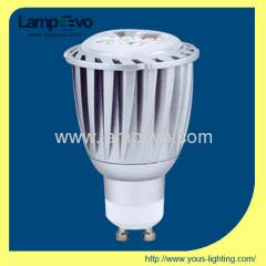 6W GU10 400lm LED HIGH POWER SPOTLIGHT