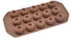Different colors and types Silicon chocolate mould
