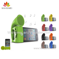 Silicon iphone horn stander