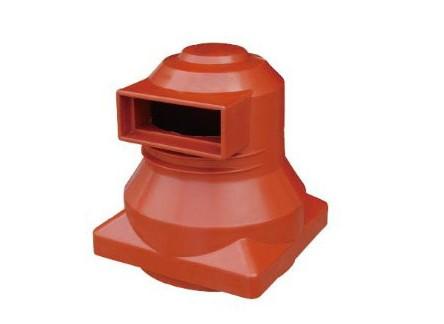 Isolation contact spout bushings contact box