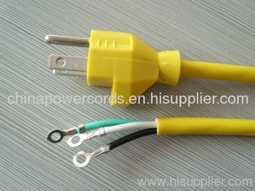Electric power cord for cleaner use