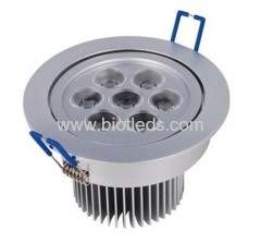 Led ceiling light 7W high power led downlight LED downlight
