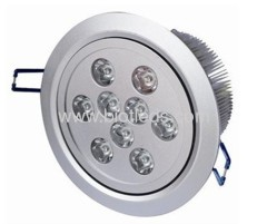 Led ceiling light 9W high power led downlight LED downlight