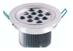 Led ceiling light 12W high power led downlight LED downlight