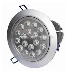 Led ceiling light 18W high power led downlight LED downlight