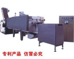 mesh belt furnace with Muffle pot
