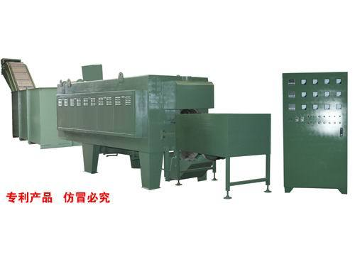 Continous protective atmosphere quenching furnaces