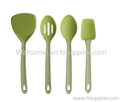 Durable Silicon Soup Spoon