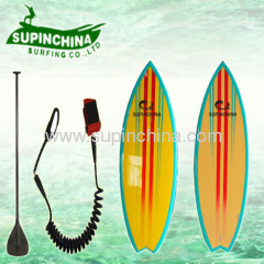 yellow green color short board 6'6