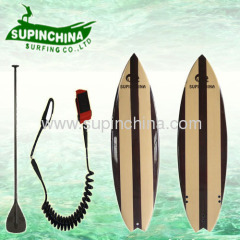 wooden color short board china supplier