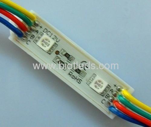 led module light 2pcs 5050 rgb led module light