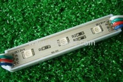 led module light 3pcs 5050 rgb led module light