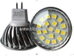SMD spot light smd led bulbs smd lamps with cover MR16 base