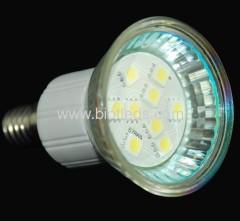 9SMD spot light smd led bulbs smd lamps E14base