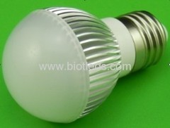 3W 3X1W High Power led bulb E27 base high power led light
