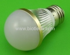 3W 3pcs 1W High Power led bulb E27 base high power led light